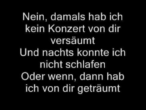 Udo Lindenberg-Cello [Lyrics]