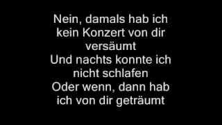 Udo Lindenberg-Cello [Lyrics]