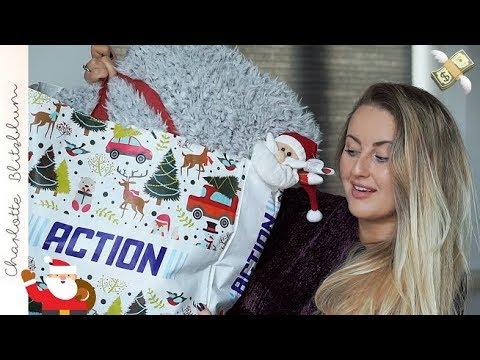 ACTION KERSTSHOPPEN MET JULLIE + GROTE ACTION SHOPLOG! | Charlotte Blitzblum