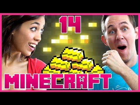 I FOUND GOLD!   Minecraft w/ Amanda [Part 14]
