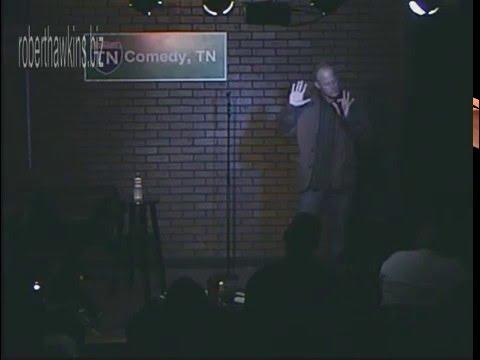 Robert Hawkins on Larry Craig 2007 archive stand up comedy bathroom humor