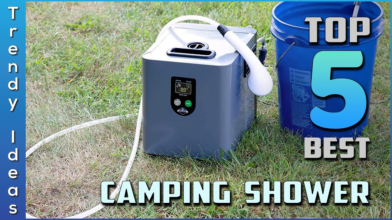 portable camping showers best for 2021