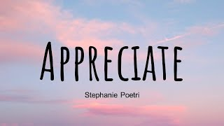 Stephanie Poetri – Appreciate English Ver.