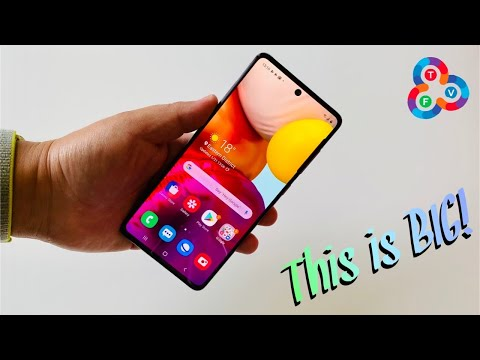Galaxy A71 Unboxing & Initial Review - Big Screen Beauty!