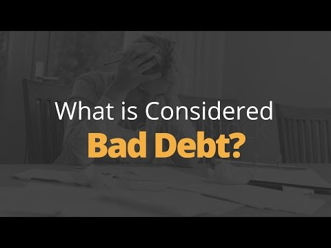 What is Considered Bad Debt? | Phil Town