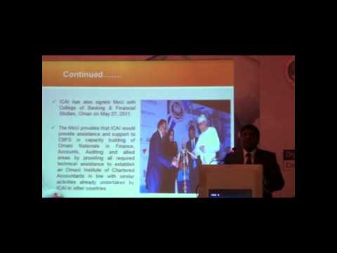 Address of CA K Raghu on 7th Corporate Meet Accountants at Bangalore