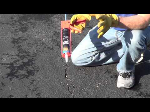 How to Fill Driveway Cracks - Driveway Crack Filler