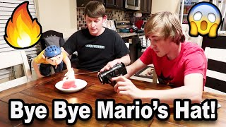 We Set Mario's Hat On FIRE! | Jeffy's BIG Mess! | BTS!