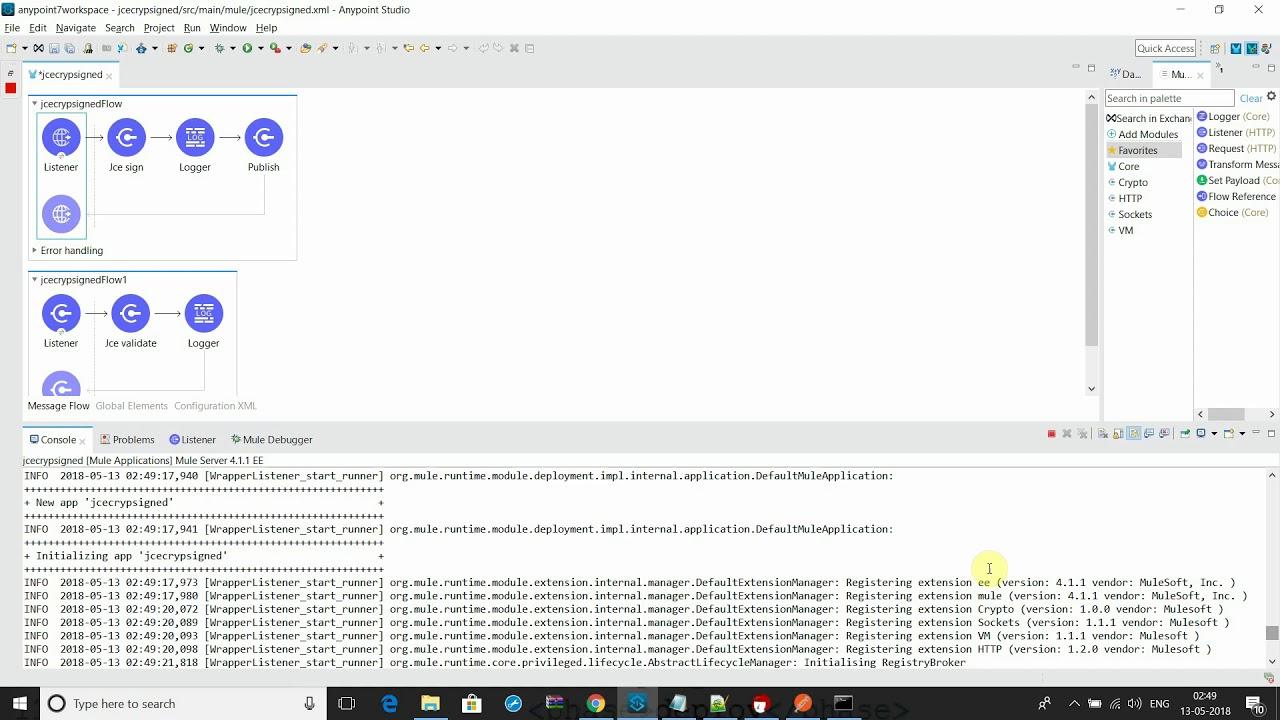 Pgp Jce Signed Encryption Decryption MuleSoft