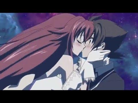 Issei And Rias Kiss English Dub (High School DXD)