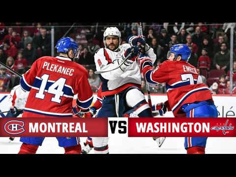 Montreal Canadiens vs Washington Capitals   Season Game 53   Highlights (4/2/17)