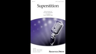 Superstition (SATB Choir) - Arranged by Paul Langford