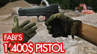 Probably The Most Expensive Airsoft Pistol Ever