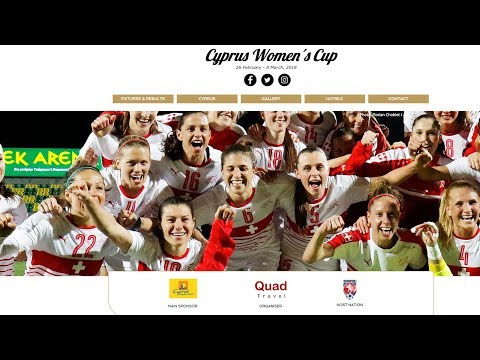 CYPRUS WOMEN'S CUP 2018 | LIVESTREAMING FROM GSZ STADIUM - Czech Republic vs Slovakia 9/10th Place