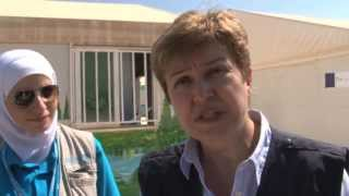 "Kristalina Georgieva ""We have to do our job for the children of Syria"""