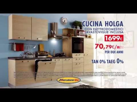 cucina completa di elettrodomestici - youtube - Offerte Cucine Mercatone Uno