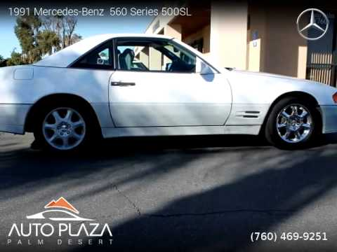 1991 mercedes benz 560 series 500sl auto plaza palm for Mercedes benz palm desert