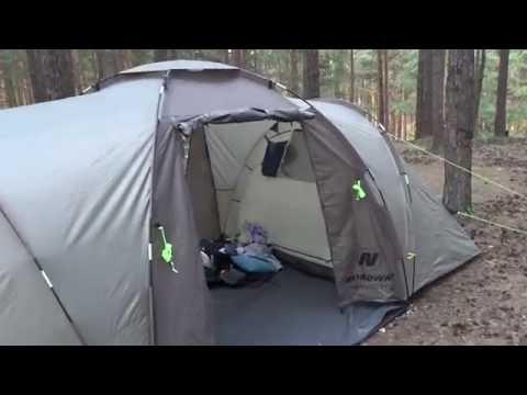 Палатка NordWay Twin Sky 4 Basic или какую палатку выбрать