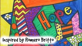 Inspired by Romero Britto