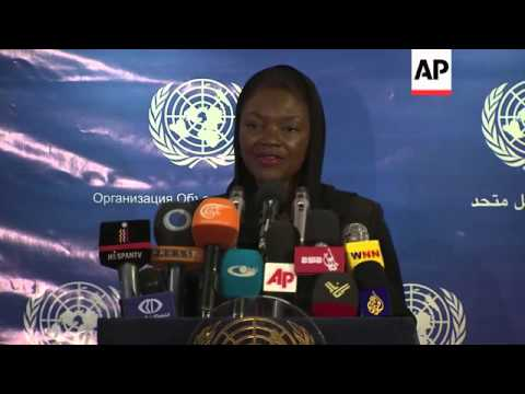 Iran/UN discuss Syria assistance; UN's Amos says Syrian situation 'dire'