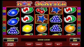 Hot Scatter Slot Machine Online - Best Casino Bonuses For Slots Players