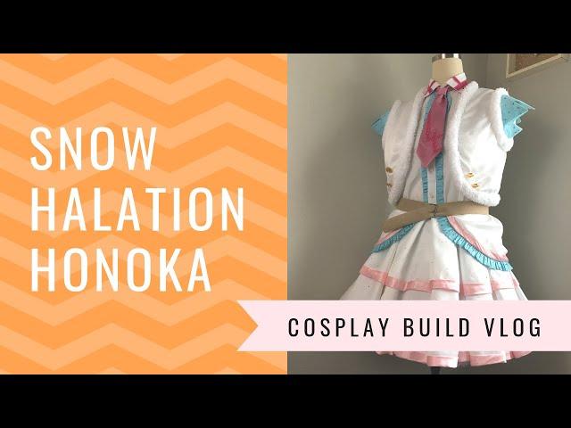 ☆[Build Vlog] Snow Halation Honoka Cosplay!☆