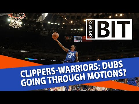 Los Angeles Clippers at Golden State Warriors | Sports BIT | NBA Picks
