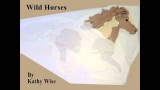 Wild Horses Intarsia By Kathy Wise: Part 1