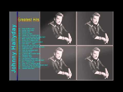 Johnny Hallyday : Les plus grands tubes  || The Best Album of Johnny Hallyday