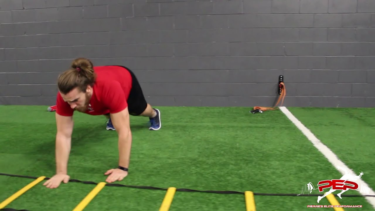 Agility Ladder Upper And Lower Body Circuit Training Speed The Basic We Did Today Performance