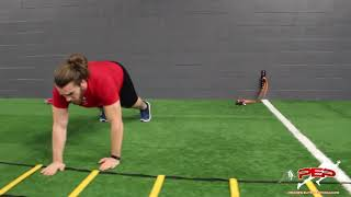 Agility Ladder Upper and Lower Body Circuit Training | Speed Performance