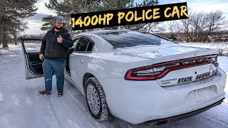 Building a 1400hp AWD Police Car