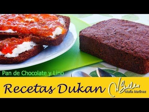 pan-dukan-de-chocolate-y-lino-(linaza)-/-chocolate-and-flaxseed-bread-recipe
