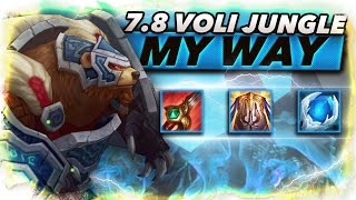 7.8 Volibear My Way Jungle #Comebacks - Trick2G