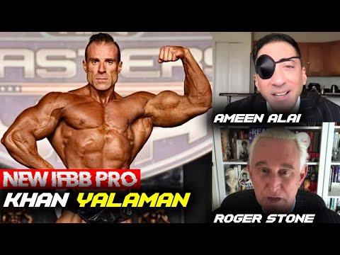 PERSISTENCE PAYS OFF! Khan Yalaman w/Ameen Alai & Roger Stone