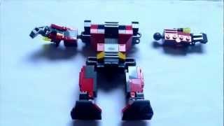Lego Creator Underwater Robot 3 In 1 Stop Motion Build