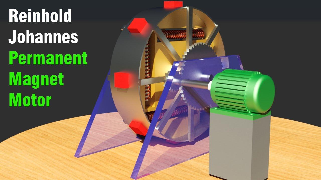 Permanent Magnet Motor >> Free Energy Generator 2017, Johannes Reinhold Permanent Magnet Motor - YouTube