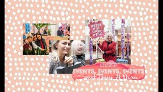 VLOG 3 - EVENTS, EVENTS, EVENTS! ft. Tinne Oltmans & Nora Gharib // Coeur Belgique