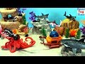 Animal Planet Deep Sea Shark Toys Adventure Toys Playset Fun Learn Sea Animals Toys For Kids mp3