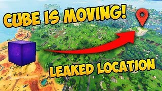 THE CUBE IS MOVING! *LEAKED* Location Found! - Fortnite Funny Fails and WTF Moments! #301