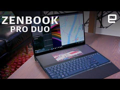ASUS Zenbook Pro Duo Hands-On at Computex 2019