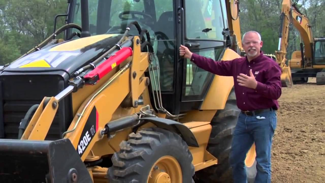 Backhoe Loader Daily Inspection Checklist Youtube