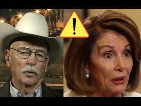 Rancher SLAMS Nancy Pelosi's Statment On Border Security, 40 yrs of illegals Crossing His Ranch