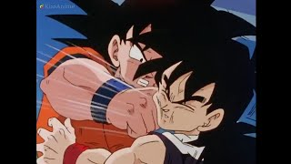 Goku Punches Gohan Dragon Ball Kai (English Dub)