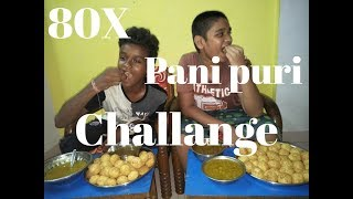 panipuri eating with friend
