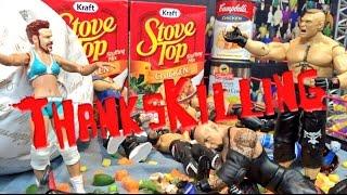 GTS WRESTLING: ThanksKilling! WWE Mattel Figure Matches Animation PPV Event