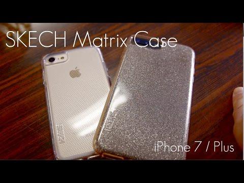super popular 664de 00564 SKECH MATRIX Clear Case - iPhone 7 & 7 PLUS - Review / Demo