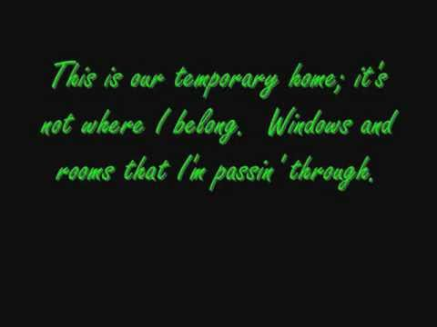 Temporary Home - Carrie Underwood - Piano Solo with Lyrics
