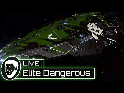 Elite Dangerous - Mining In An Anaconda