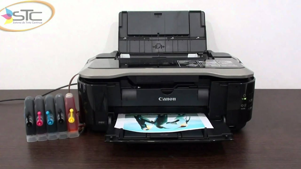 Impresora Fotografica Canon Pixma Ip4810 Con Sistema De